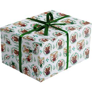 Funky Flannels, Holiday Gift Wrap