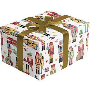 Traditional Nutcracker, Christmas Ornament Gift Wrap