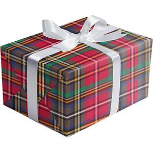 Tartan, Holiday Gift Wrap