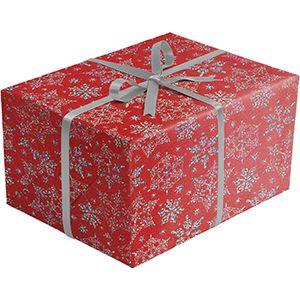 Sparkleflake Red, Holiday Gift Wrap