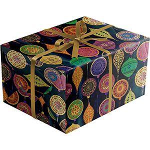 Opulent Ornament, Christmas Ornament Gift Wrap