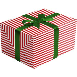 Red White, Christmas Patterns Gift Wrap
