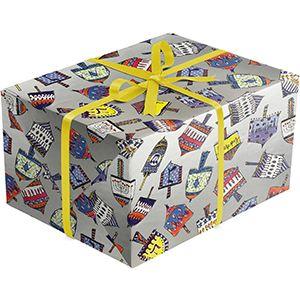 Dreidal Party, Holiday Gift Wrap