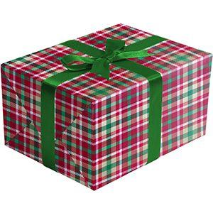 Christmas Plaid, Holiday Gift Wrap