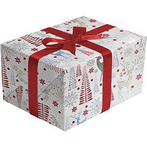 Sparkling Reindeer, Holiday Gift Wrap