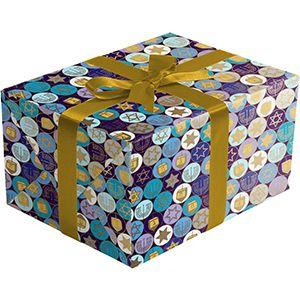 Hanukkah Gelt, Holiday Gift Wrap