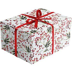 Snow Berries, Mistletoe Gift Wrap