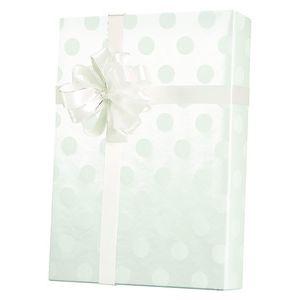 Valentine Gift Wrap, Polka Dot Pearl