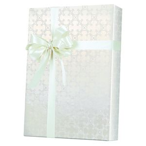 Valentine Gift Wrap, Quatrefoil