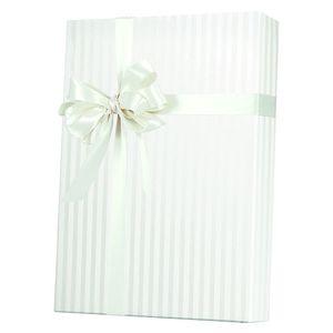 Valentine Gift Wrap, Pearl Stripes