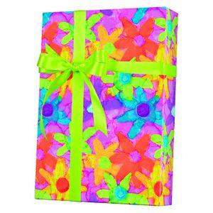 Feminine & Floral Gift Wrap, Flower Power