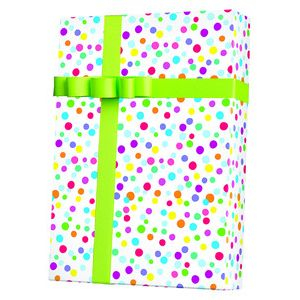 Celebrate Gift Wrap, Ditty Dots
