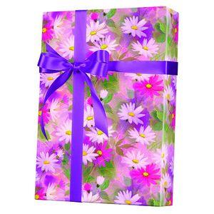 Feminine & Floral Gift Wrap, Daisy Dance
