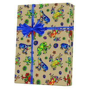Celebrate Gift Wrap, Hop to It Kraft