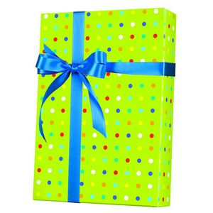 Celebrate Gift Wrap, Party Dots