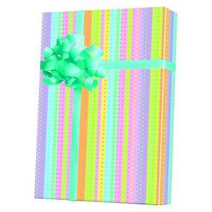 Baby Gift Wrap, Dotty Stripe
