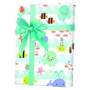 Baby Gift Wrap, Sea Babies