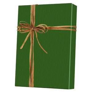 Solids & Special Finishes, Gift Wrap, Dark Green Kraft