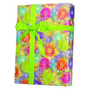 Feminine & Floral Gift Wrap, Gilded Daisies