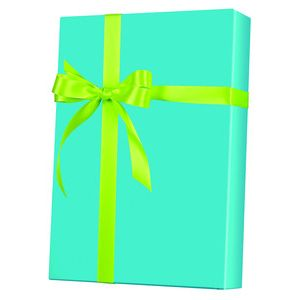 Solids & Special Finishes, Gift Wrap, Turquoise Ultra Gloss