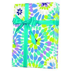 Feminine & Floral Gift Wrap, Make A Splash