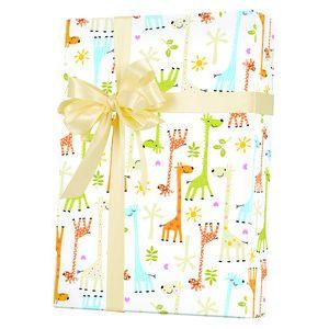 Baby Gift Wrap, Baby Giraffes