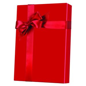 Solids & Special Finishes, Gift Wrap, Red Ultra Gloss