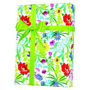 Feminine & Floral Gift Wrap, Summer Garden