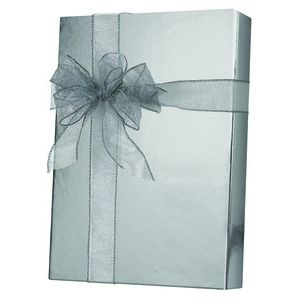 Solids & Special Finishes, Gift Wrap, Silver Metallic