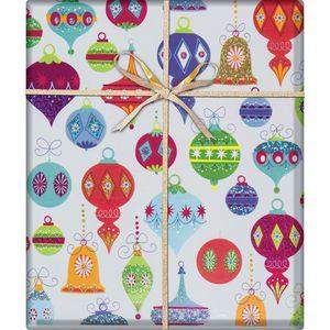 "Christmas Giftwrap, Delicate Décor Collection, 10' x 30"""