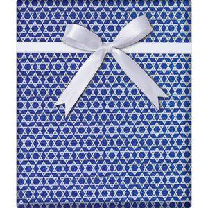 """Christmas Giftwrap, Shield of David Collection, 10' x 30"""""""