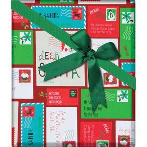 "Christmas Giftwrap, Dear Santa Collection, 10' x 30"""