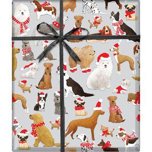 "Christmas Giftwrap, Santa's Helpers Collection, 5' x 30"""