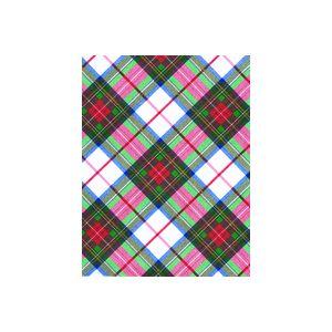 White Plaid, Christmas Patterns Gift Wrap