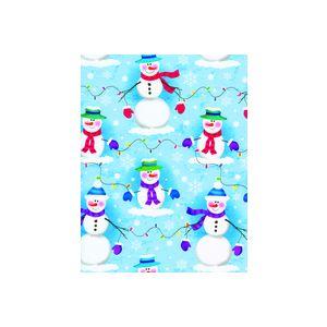 Frosty Nights, Snowman Gift Wrap
