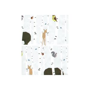 Forest Animals, Animal Gift Wrap