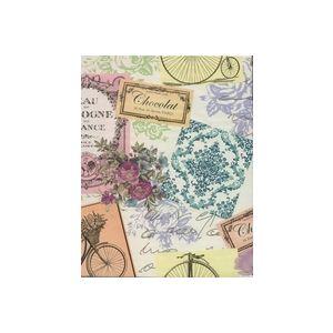 Ephemera, Floral Gift Wrap