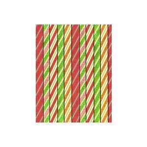 Candy Sticks, Christmas Gift Wrap