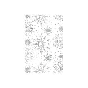 White Snowflakes, Christmas Gift Wrap