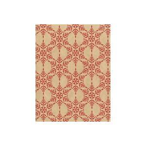 Red Snowflakes , Christmas Gift Wrap