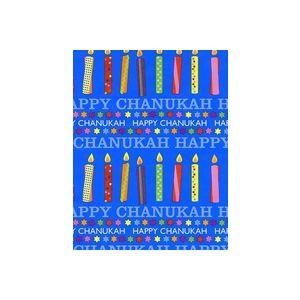 Chanukah Candles , Hanukkah Gift Wrap