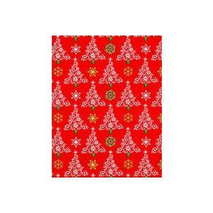 Trees & Flakes , Christmas Gift Wrap