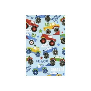Monster Truck, Youthful Gift Wrap