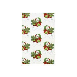 Let It Snow,  Man!, Snowman Gift Wrap