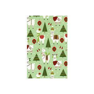 Dolly Llama, Holiday Animal Gift Wrap