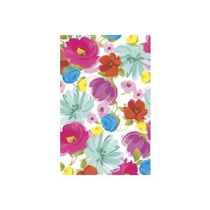 Painted Garden, Floral Gift Wrap