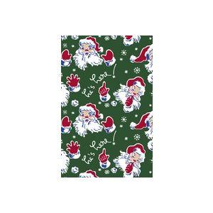 Vintage Santa , Christmas Gift Wrap