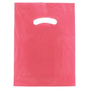 "Magenta, Super Gloss Merchandise Bags, 9"" x 12"""