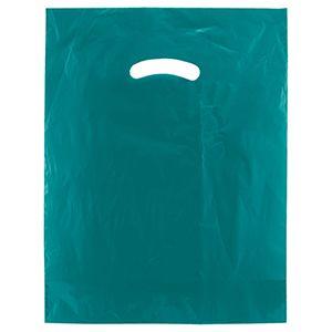 "Teal, Super Gloss Merchandise Bags, 12"" x 15"""