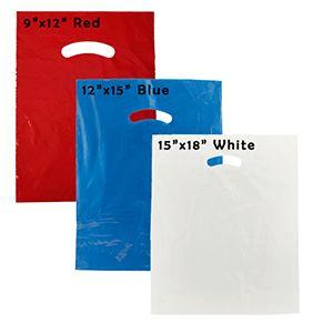 Plastic Merchandise Bags Package